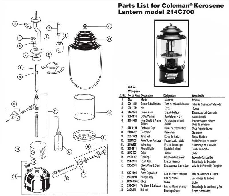 Oldcolemanparts parts diagrams 214c700 lantern mozeypictures Images