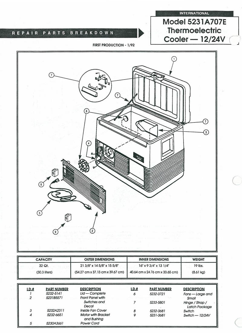 5231A707E oldcolemanparts com parts diagrams  at readyjetset.co